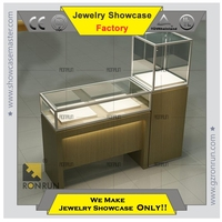 Hot sales high quality display showcase for jewelry