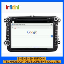 "pure android 4.2 8"" capacitive touch screen car dvd player for vw golf v with gps radio bluetooth"