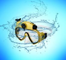 diving glasses cameras underwater 30M Waterproof HD 720P sports Digital PC Camera Video Diving Scuba Mask Play on TV DV-20