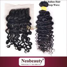 Neobeauty italian keratin flat type human hair extension