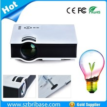 Sell Factory price Full HD 1080p 800:1 800*480 LED mini Projector with tv tuner for outdoor car home theater business