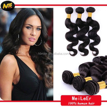 MLER 5A body wave virgin remy unprocessed persian remy hair