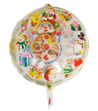 HAPPY TOGETHER Factory Wholesale 2014 Hot Selling Chirstmas Decoration Foil Balloons