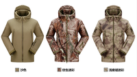 Outdoor Waterproof TAD V 4.0 Light Weight Tactical Sharkskin Softshell Jacket