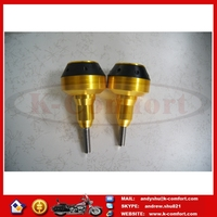 K048 CNC Aluminum Motorcycles Protector Drop Resistance Cups Motorcycle Modified Accessories