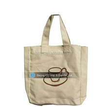 Hot Sale 100% Cotton high quality blank canvas wholesale tote bags