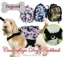 Outdoor Dog Food Packaging Bag Travel Camouflage Camping Dog Food Bag Dog Camouflague Carrier Bag