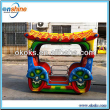 Attraction toy train outdoor playground