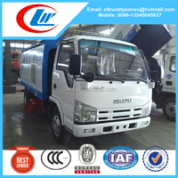 ISUZU Dongfeng road sweeper cleaning truck for sale