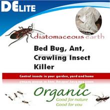 DElite Organic 300G/Bottle Food Grade Celatom Celite Diatomaceous Earth Powder Pesticides, Mites, Ants, Slugs,Bugs Killer