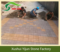 High Quality Customized Outdoor Artificial Walkway Floor Brick Fake Paving Stone