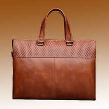 Latest Fashion Design high quality leather handbag man