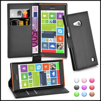 Wallet Leather Moblie Phone Case Cover for Nokia Lumia 730