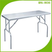 Metal folding pench,portable folding camping table