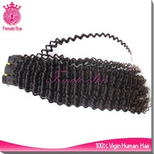 Premium hair extension peruvian deep wave she's happy hair human hair for braiding weave pictures