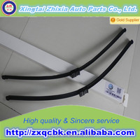 All weather frame wiper blade windshield cleaning metal brush