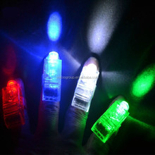 Finger LED Beams with a Silicone Ring/laser finger