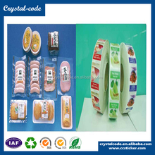 Custom hologram no residue adhesive sticker custom product label