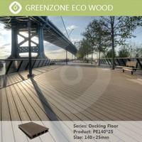 Hot sell easy to install non-slip outdoor veneer wood decking flooring