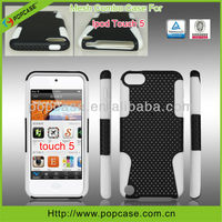 [2013 hot selling case]2 in 1 cell phone cover for apple ipod touch 5