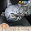 cute cats and dogs head cushion cover