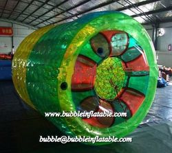 PVC Material Inflatable Roller Wheel/Water Water Roller for outdoor water game
