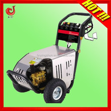 170Bar 13.7LPM 3KW 380V mobile high pressure car washer, high pressure car washer pump, high pressure car wash