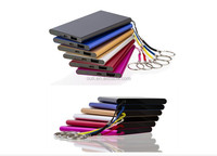 Universal portable anime power bank 4000mah mobile external battery for iphone 5