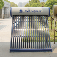 Solar water heater pressurized heat pipe vacuum glass tubes for solar water heater