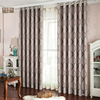 American style 100% polyester luxury curtain turkey