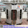 The aluminium scrap melting furnace induction melting