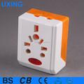 universal 2 220v pin adaptador de enchufe