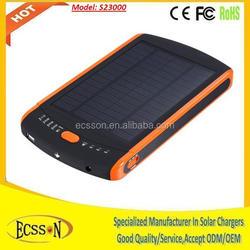 19V 23000 mah solar laptop charger, universal solar power bank for laptop, 12v solar charger for laptop