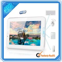 Portable Fashion 7 Inch 2G Phone Calling Android 4.2 Free 3D Games Tablet PC White (29001519)