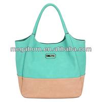 China manufacturer wholesale designer lady bags fashion PU leather tote bag