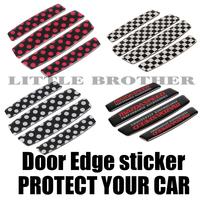 4 Pcs Truck Auto Car Door Edge strike protect Scratches Protection Decorative Sticker