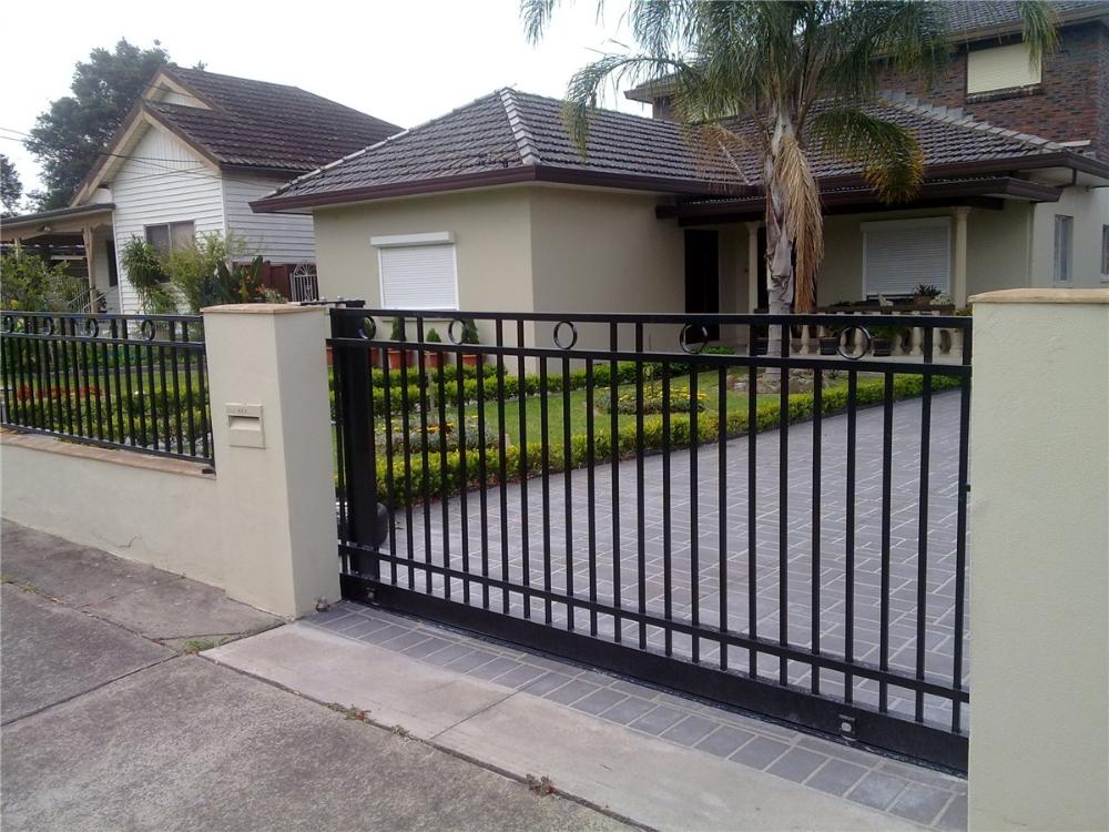 Sliding aluminum garden gate buy
