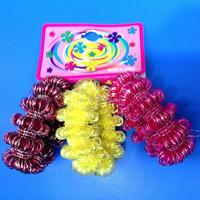 fabric elastic hair band, pony hair fabric, fabric elastic band