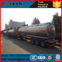 China Trailer Chemical Liquid Tank Truck Trailer