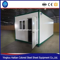 Temporary housing moving container house Prefabricated container house