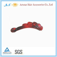 Latest design banana clip hair pieces for girls