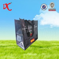 BOPP laminated pp woven bag, eco friendly pp shopping bag