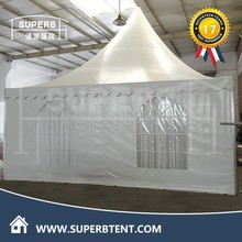 5mx5m waterproof 15 person tents with decorative linings and curtains for sale