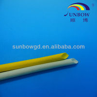 Bus Bars Used Fiberglass Silicone Insulation Sleeving With High Quality and Cheap Price