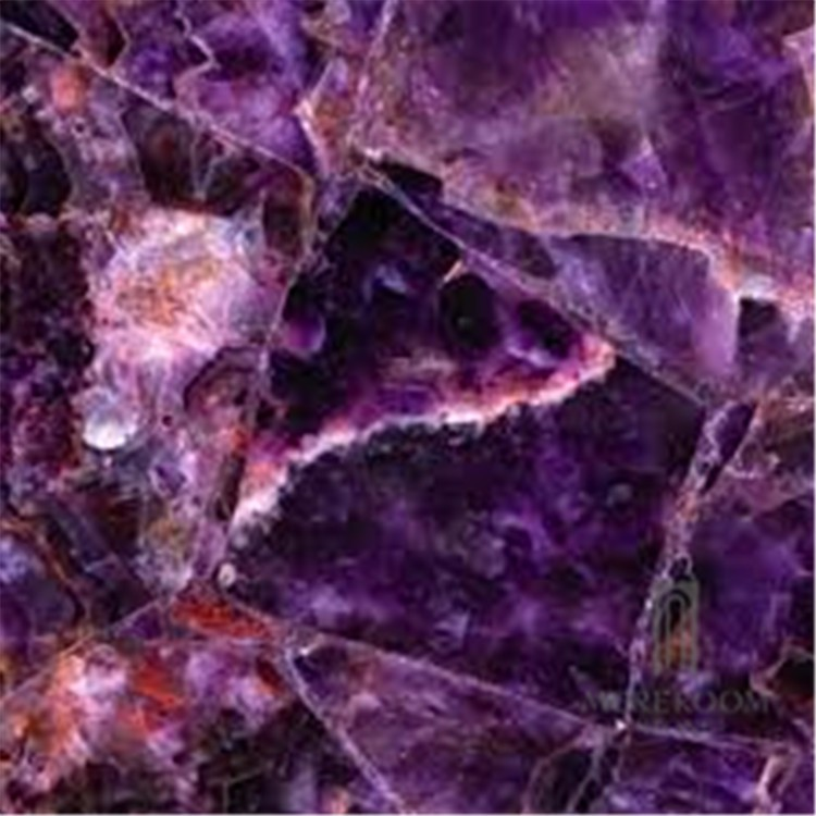 Purple Onyx Slabs : Purple onyx backlit glass laminated panel