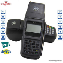 Low Cost Linux Handheld POS/Portable POS Terminal with Printer, MSR, ICC, RFID, Pin Pad and LAN/Ethernet