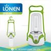 LONEN high power 8W CFL energy saving rechargeable lantern outdoor