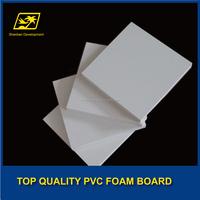 no toxic foam sheet pvc sheet white thickness 5mm