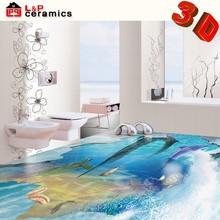 2015 New products bathroom tile 3d ceramic floor tile 3d wall and floor tile