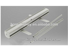 Mall Promotion Display Economical Two Feet Aluminum Base Sliver High Quality Roll Up with 80*200CM